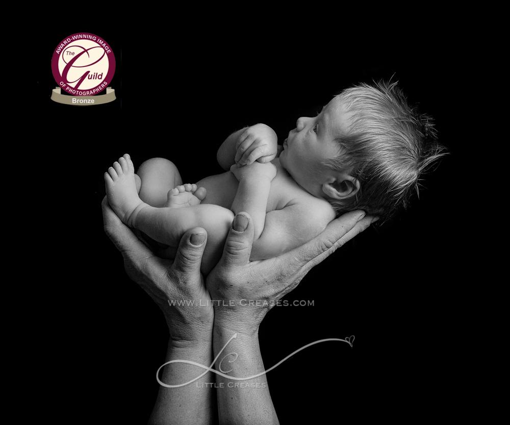 Leicester newborn and baby photographerLittle Creases, Bronze Award, Award wining newborn baby image,The Guild,baby,Newborn,