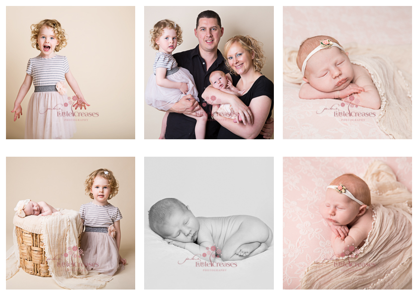Leicester newborn Photography Little Creases