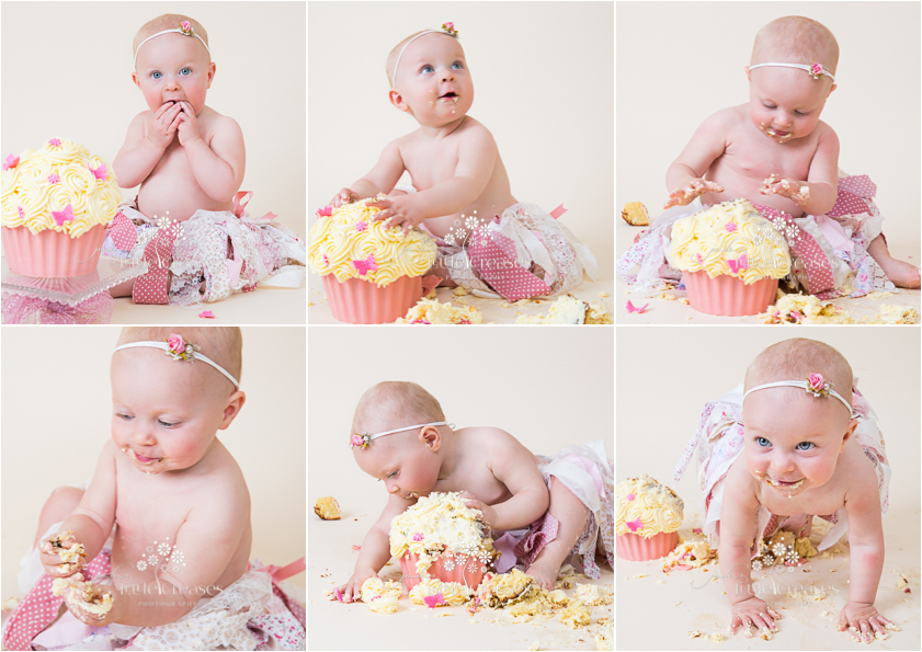 Cake Smash Jules Photography Little Creases